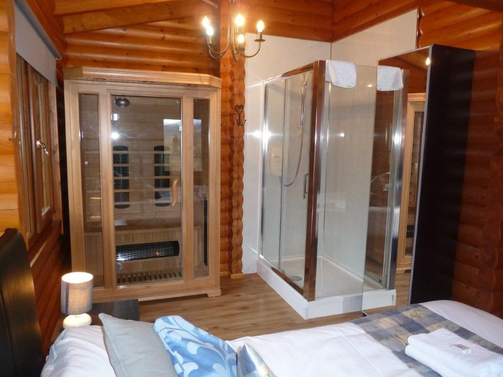 Benearb Bedroom Sauna Shower