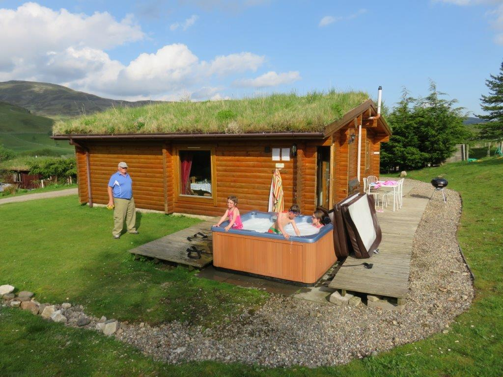 25% Discount for This Weekend in a Log Cabin - Glenbeag ...