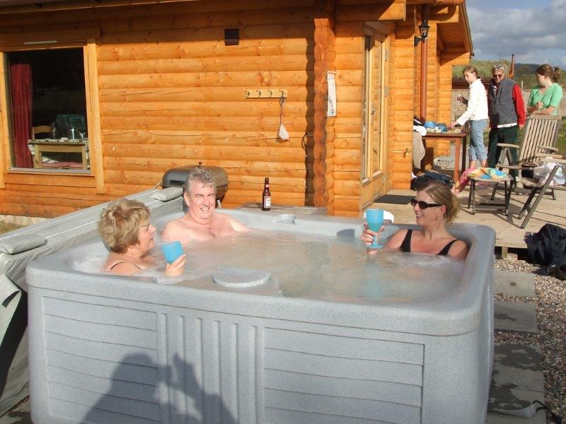 Cragdhu Hot Tub 1