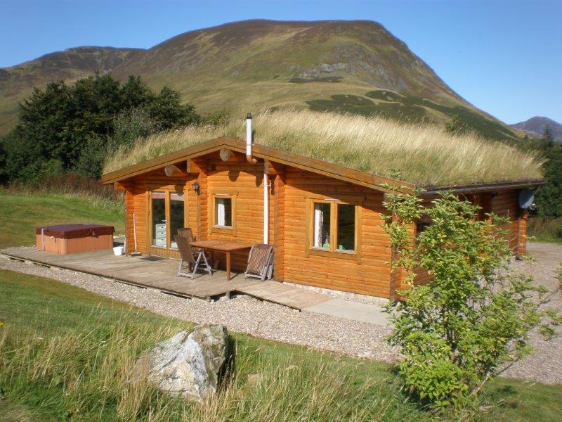Log Cabins With Hot Tubs Glenbeag Mountain Lodges