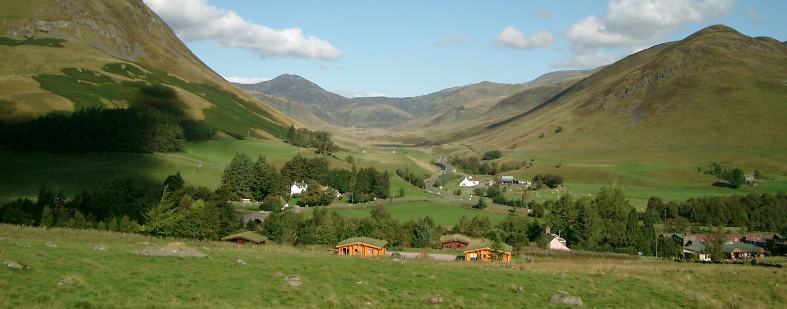 The Log Cabins at Glenbeag