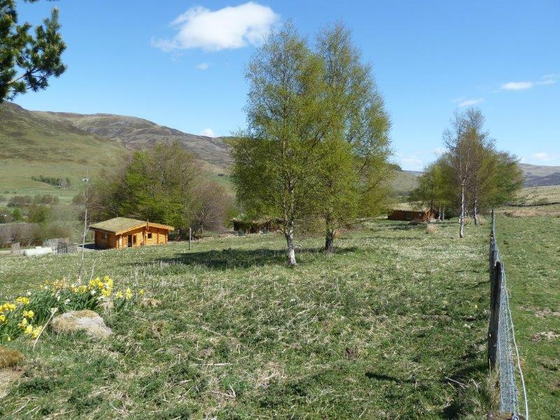 Scotsview, Clashmore and Cragdhu Log Cabins