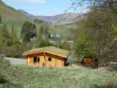 Scotsview Log Cabin May 16