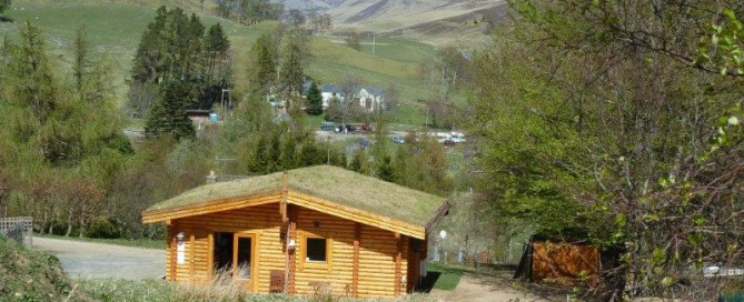 Scotsview Log Cabin May 16