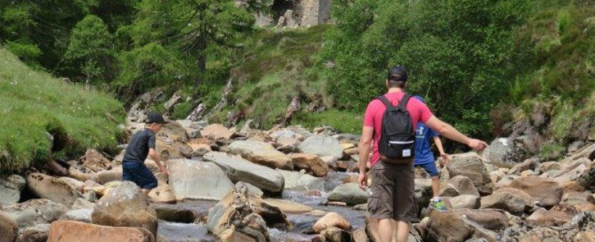 Glenlochsie Hunting Lodge Walk