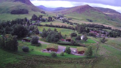Another Overhead shot of Glenbeag Mountain Lodges