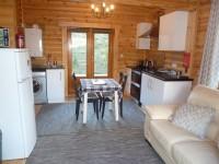 Scotsview Log Cabin Kitchen