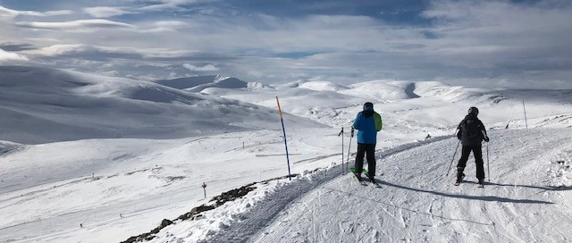 Glenshee Ski Centre Looking Picture Perfect